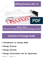 Energy Auditing