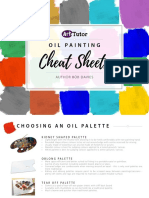 Oil Painting Cheat Sheets