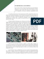 1 - Breve Historia de La Electrónica