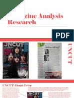 Magazine Analyses Research