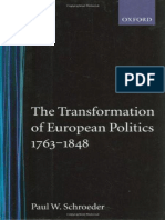 (Oxford History of Modern Europe) Paul W. Schroeder - The Transformation of European Politics 1763-1848-Oxford University Press, USA (1994).epub