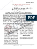 A Switched-Capacitor-Based Multilevel Inverter Topology With Reduced Components