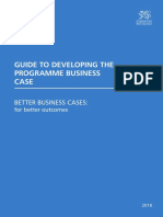 Programme Business Case 2018 domestic UK