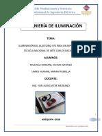 Iluminacion de Sala de Exposicion -  Centro de Artes Bacaflor Arequipa