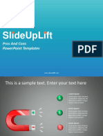 SlideUpLift | Pros And Cons PowerPoint Templates | Pros And Cons PPT Slide Designs