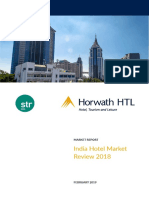 2018 India Hotel Review Report