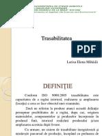 trasabilitate