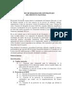 Petitorio Estudiantes Instituto Nacional