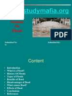 Civil Flood Ppt