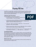 Funny Fill Ins.docx