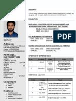 Usman CV2 New