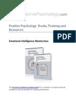 Positive Psychology Books