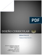 DISEÑO CURRICULAR