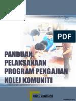 Panduan Pelaksanaan Program Pengajian Kolej Komuniti Jun 2013(2)