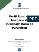 Publicação Perfil Rural Bacia Do Paramirim