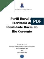 Publicação Perfil Rural Bacia Do Rio Corrente