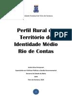 Publicação Perfil Rural Médio Rio de Contas