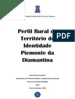 Publicação Perfil Rural Piemonte Da Diamantina