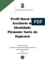 Publicação Perfil Rural Piemonte Norte Do Itapicuru