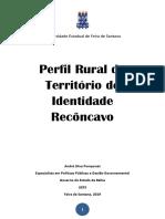 Publicação Perfil Rural Recôncavo