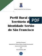 Publicação Perfil Rural Sertão Do São Francisco