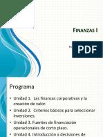 Finanzas I introducción