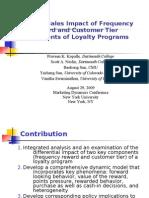 Marketing Dynamics