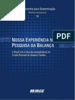 O Brasil Sob a Ótica Dos Pesquisadores Do Estudo Nacional Da Despesa Familiar. 1974 a 1976