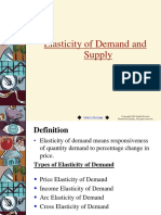Elasticity of Demand 2019