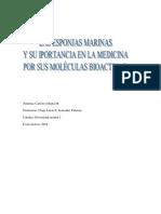 Poriferos y Su Relación Con La Biotecnología Roja.3000