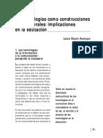 SET 01 de La Tecnologia a La Educacion Tecnologica ELSABER21.COM