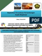 Kepatuhan Perusahaan Pertambangan Eksplorasi