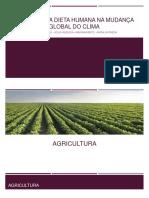 Alimentação e Mudanças Climáticas