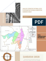 Analisis Struktur Ruang Kecamatan Cisarua