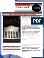 National Museums 20% Off Flyer