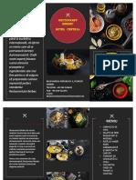 MENIU proiect alimentatie