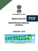 Indian Railway Maintenance Manual (Works)