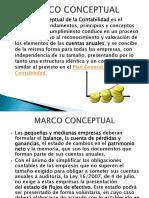 Marco Conceptual Contabilidad Financiera 2017