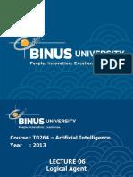 Lecture Binus