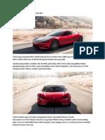 Tesla Roadster 2 mobil listrik tercepat.docx