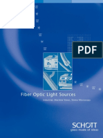 schott fostec fiber optic light sources
