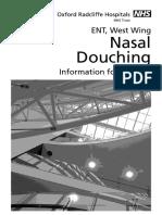 Nasal Douching