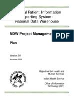 NDW ProjectManagementPlan V2.0