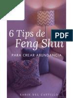6 Tips de Feng Shui . Karin Del Castillo