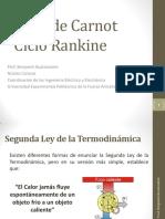 Tema 1 - Ciclo de Carnot y Ciclo Rankine