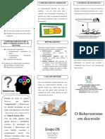 2_Folder - Behaviorismo