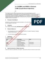 31 Pv 163 Nitrosamine in Sartans en Draft Swissmedic v2