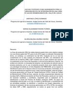 PROCESO DE ANÁLISIS MULTICRITERIO COMO HERRAMIENTA PARA LA IDENTIFICACIÓN DE MÁQUINA MOTIVO DE INTERVENCIÓN EN UNA LÍNEA DE PRODUCCIÓN DE CALDOS DESMENUZADOS DEL VALLE DEL CAUCA.docx
