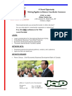 JCIDA Cross Border Conference flyer