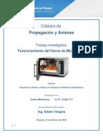 Investigacion #1 Horno de Microondas Carlos Monterrey 8-484-177